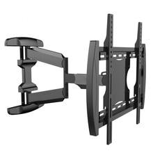 Super Quality Retractable Universal 26″-50″ LCD LED Monitor TV Wall Mount Heavy Duty Rotation Tilt Bracket