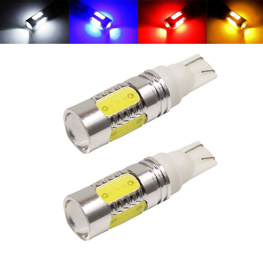 1PCS T10 W5W 194 168 7.5W COB DC12V LED Lights High Power Car Auto Wedge Side Turn Signal Lights Reverse Parking Backup Lamp wi fi роутер tp link archer c50 archer c50