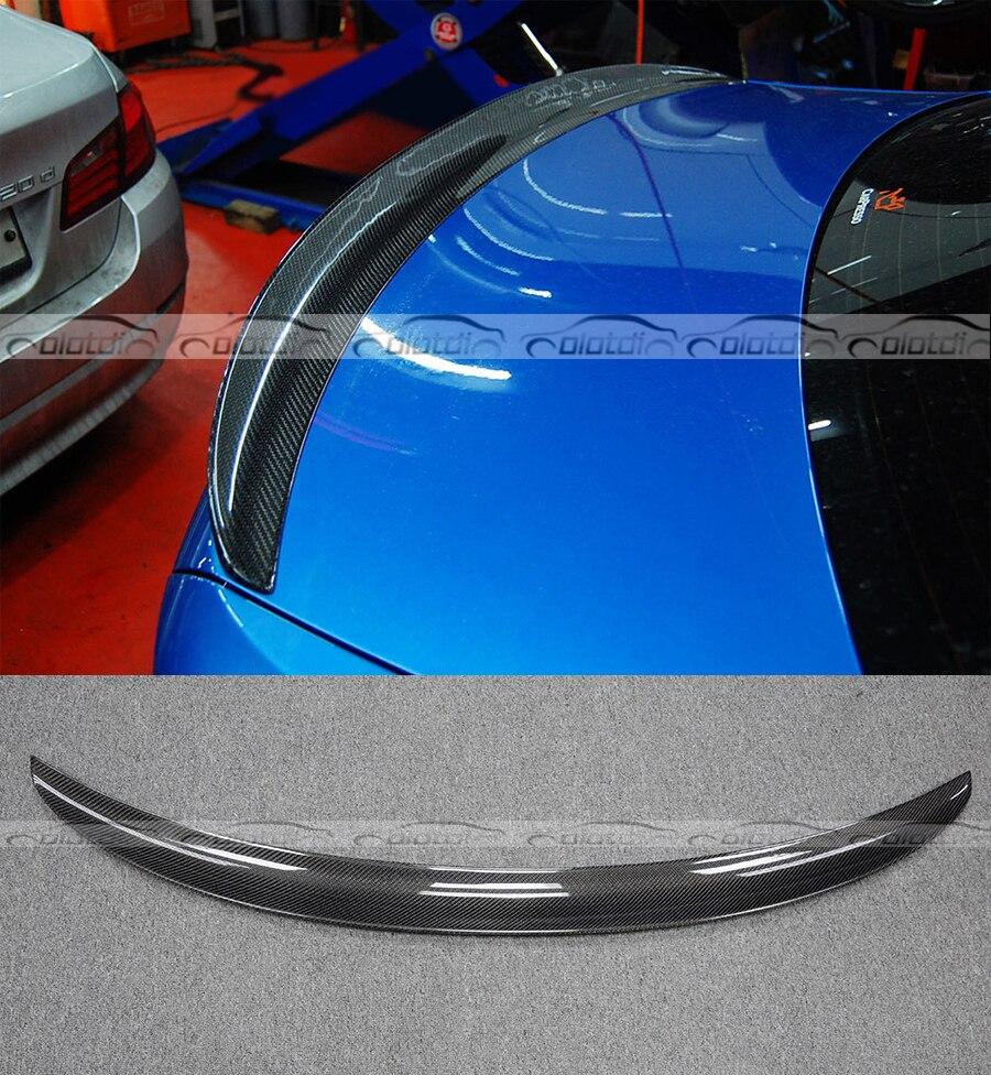 F87 M2 P Style Car Styling Noir En Fiber De Carbone Spoiler Aile Pour BMW 2 Série Tous Les F22 & F87 Arrière trunk Lip Spoiler 2014-2018
