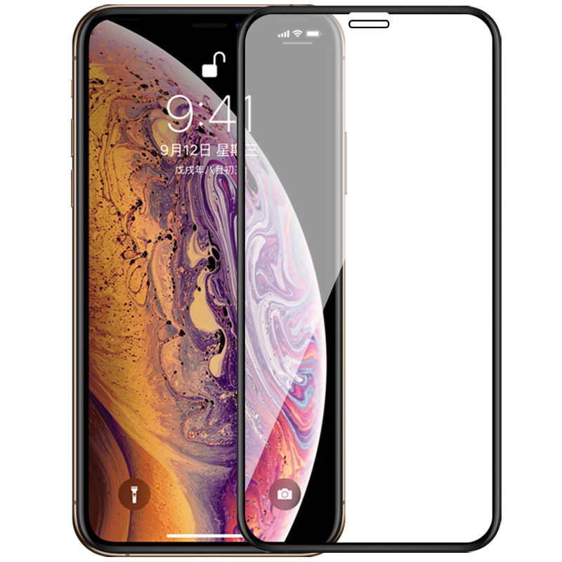 Verre de protection pour iPhone X XR XS MAX protecteur d'écran en verre trempé pour apple aphone 10 sx rx xmax film de sécurité en verre de noël 9 h