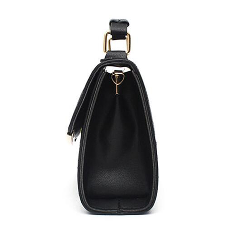 67dda0872cc8 New Women PU Leather Handbags for Woman Fashion Designer Black Bucket  Vintage Shoulder Bags Women Messenger …