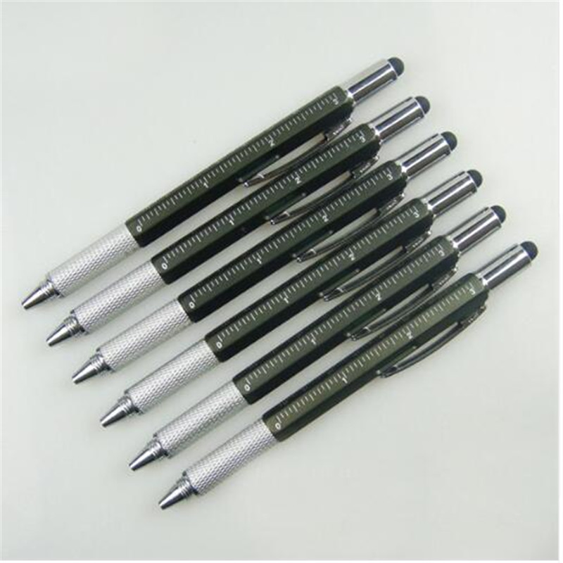 цена на 6203 Black Metal Fountain Pen Nib Medium Gold Trim Arrow Clip