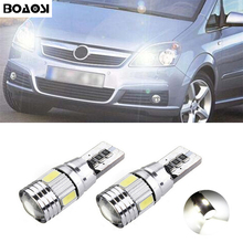 1pcs T10 W5W 6SMD 5630 LED Clearance Light Marker Lamp Bulb Canbus Error Free For Opel Agila Zafira Vectra Astra