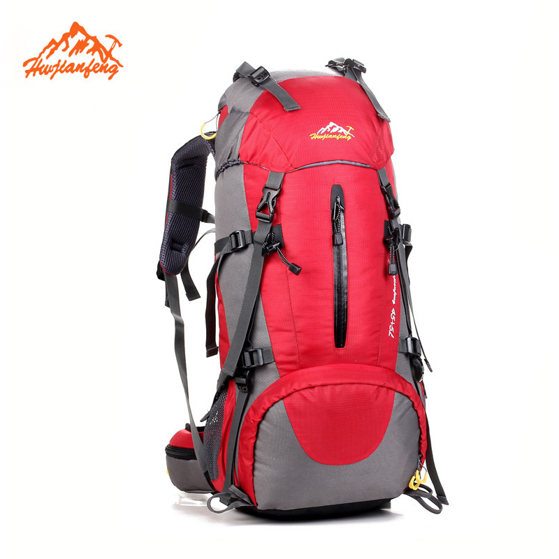 Professional Outdoor Mountaineering bag 50L Sport Hiking Camping Trekking Knapsack Backpack Men Women big backpacks for travel