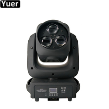 NEW Music Stage Lighting 3x40W Zoom Bee Bye LED Moving Head Light RGBW 4in1 Stage Lights For Disco DJ Nightclub Wedding Party 2pcs lot new stage interactive led dance floor light china for disco nightclub dj bar party wedding decoration dancing lighting