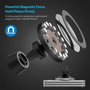 Image 4 - Магнитное беспроводное автомобильное зарядное устройство Bonola для iPhone 11/11Pro/11ProMax/XsMax/Xr/8 Qi, автомобильное беспроводное зарядное устройство для телефона Samsung S10/S9/S8