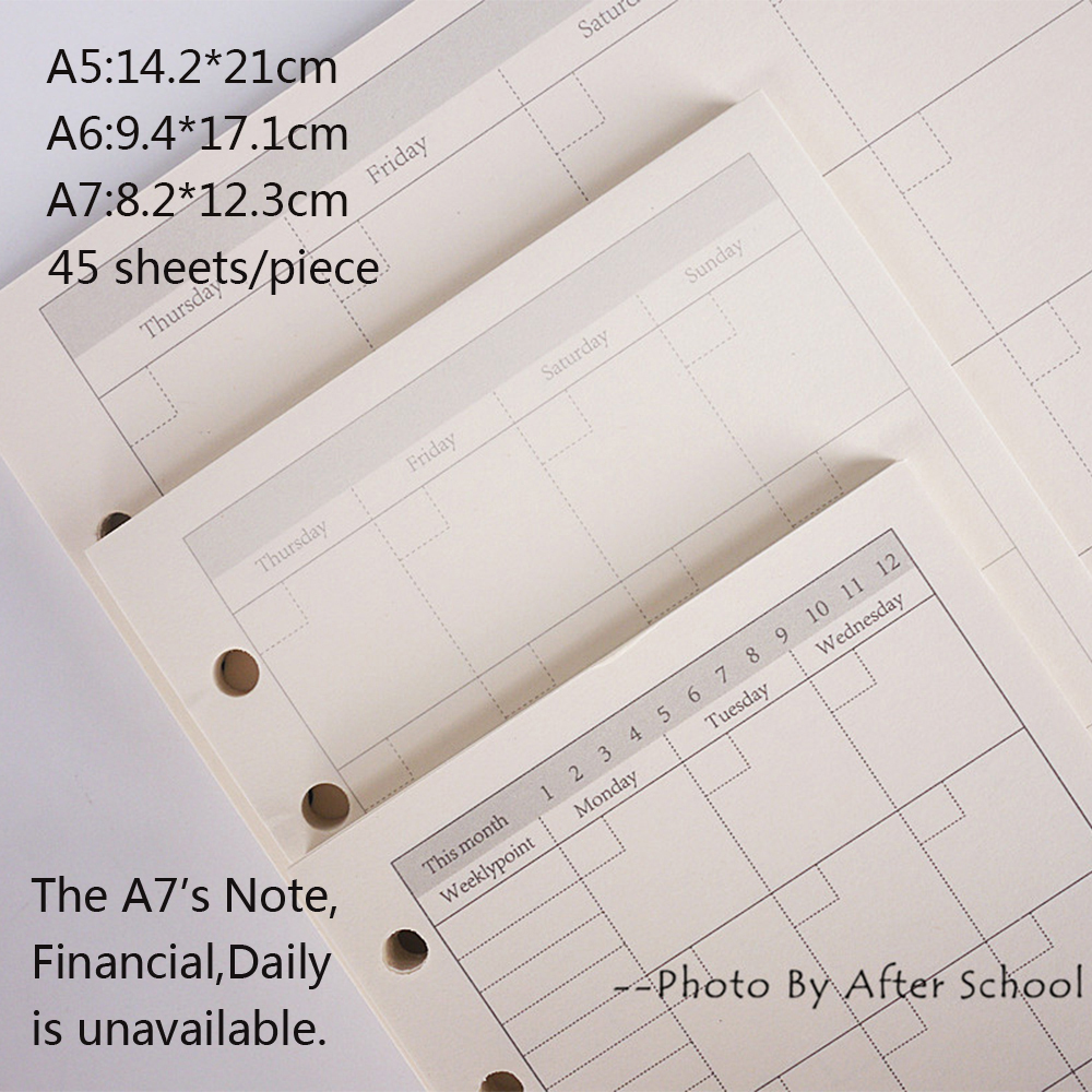 Cadernos escola escritório fichário de papel Estilo : Couro Genuíno