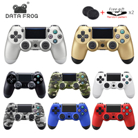 DATA FROG Bluetooth Wireless Gamepad For PS4 Controller For Playstation 4 Dualshock 4 Double Vibration Joystick Gamepad