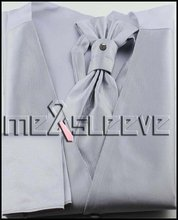 promotion New Mens Tuxedo Suit Vest Ascot cufflink handkerchief