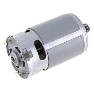 """Image 5 - RS550 12V 16.8V 21V 25V 19500 סל""""ד מנוע DC עם אחת מהירות 9 שיניים גבוהה מומנט הילוך תיבת עבור חשמלי מקדחה/מברג"""