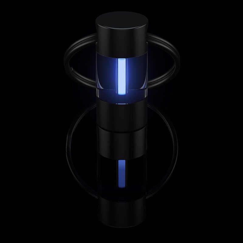 Tritium Gas Lampu Gantungan Kunci Alat Lampu Otomatis Kunci Ring Life Saving Lampu Darurat untuk Outdoor Safety dan Alat Kelangsungan Hidup