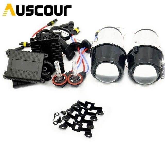 2.5 polegada H11 Fog light Lente do projetor bixenon todos os modelo universal para jeep nissan ford Mazada Mofify Mitsubish farol do carro