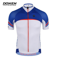 Donen Team Cycling Wear For Men Ropa Ciclismo Summer Quick Dry Shirt Short Sleeve Jersey Road