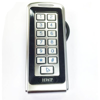 Metal keypad Metal access control Waterproof 125KHz Anti vandal Standalone keypad Rain proof