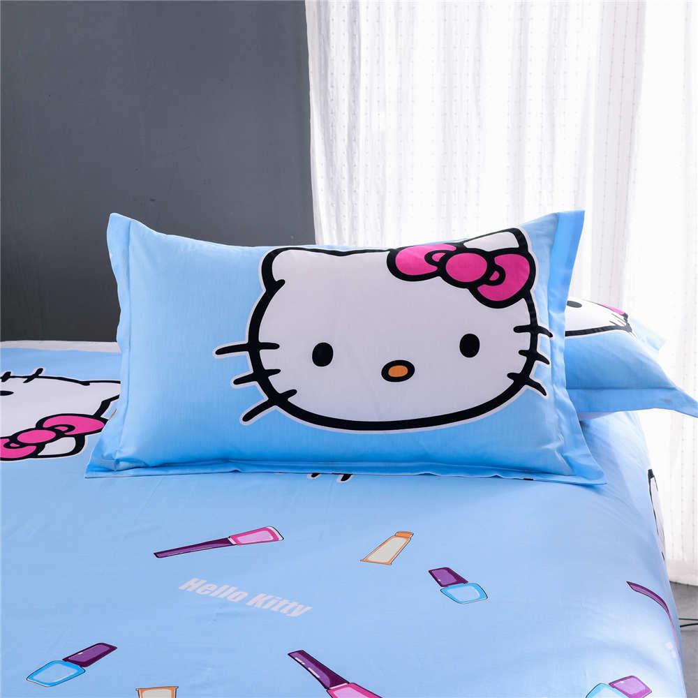 Hello kitty bedsheet blue - Hello Kitty Bedsheet Blue Online Shop New Hello Kitty Bedding Set Bedspreads Girl S Childrens
