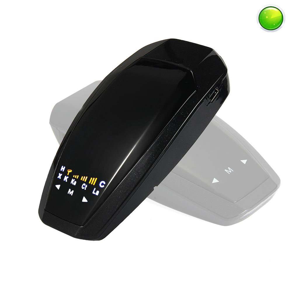 Zeepin VB Car Detector 360 Degrees Scanner Full Band Control Scanning LED Radar Detector Vehicle Speed Radar Detection Devices
