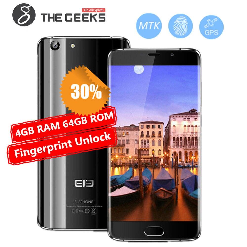 Originale Elefono S7 CallPhone 4 gb di RAM 64 gb ROM Del Telefono Mobile MTK Deca Core 5.5 pollice FHD Schermo Android 6.0 4g LTE Smartphone