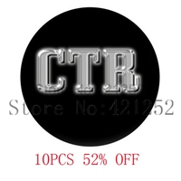 CTR choose the right Glass Photo Cabochon Necklace keyring bookmark cufflink earring