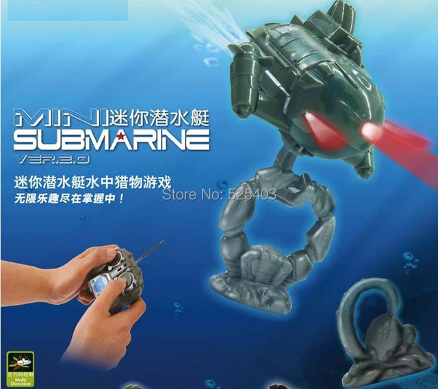 Kids toys radio remote controlled submarine Aquarium mini rc submarine children's toys boats remote control boats ship models