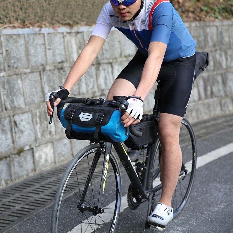 Уличная водонепроницаемая сумка для горного велосипеда передний руль велосипеда труба сумка для снаряжения Велоспорт корзина для хранения карман