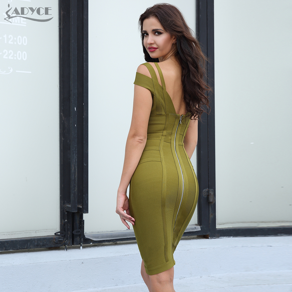 Green Party Dress for Women