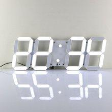 Large Modern 3D Design Digital Led font b Wall b font font b Clock b font