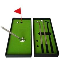 new mini ball pen golf club golf putter gift box set of desktop decoration for school - Golf Club Shipping Box