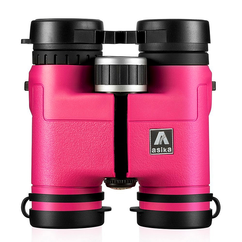 Asika 8x32 Compact Binoculars for Bird Watching Lightweight Magnesium Alloy Body Pocket Size For Travel  High Clear Vision Pink бинокль shk asika c1 8x32