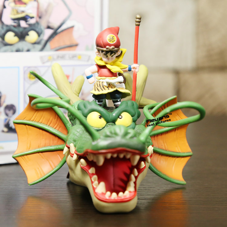 Dragon Ball Z Museum Collection 10 Son Goku with Shenron PVC Action Figure Model Toy 18cm DBFG202 anime dragon ball z goku games museum collection shenron son goku action figure model toy shenlong pvc action figures 7 18cm