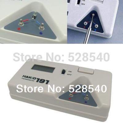 1 PCS HAKKO 191 Astuce Thermomètre Fer À Souder Astuce Numérique Testeur Livraison gratuite