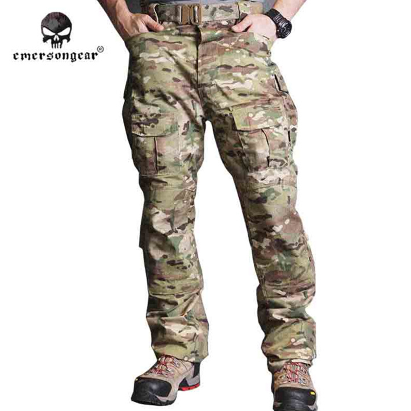 2017 NEW Emersongear CP Field Pants Byxor Tactical Emerson Training Camouflage Jakt Combat Utrustning utomhus Multicam EM6990