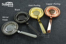 Sprung Bar Cocktail Strainer Stainless Steel Deluxe Strainer Bar Strainer Hot Sale Bar Tool