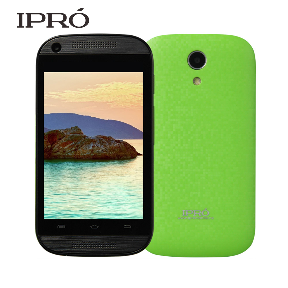 IPRO Teléfono Marca Rápido A Rusia 3G Smartphone Android 4.4 MTK6571. Dual Core