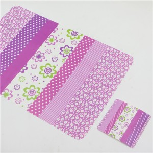 12pcs/lot flower and polka dot