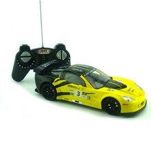 Licensed 1 18 RC Car Model For Corvette C6R Remote Control Radio Control Racing Car Kids