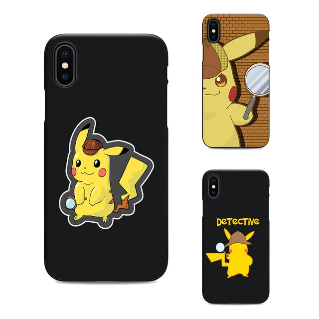 Pokemon: Detective Pikachu Funda para iPhone (4 Colores)