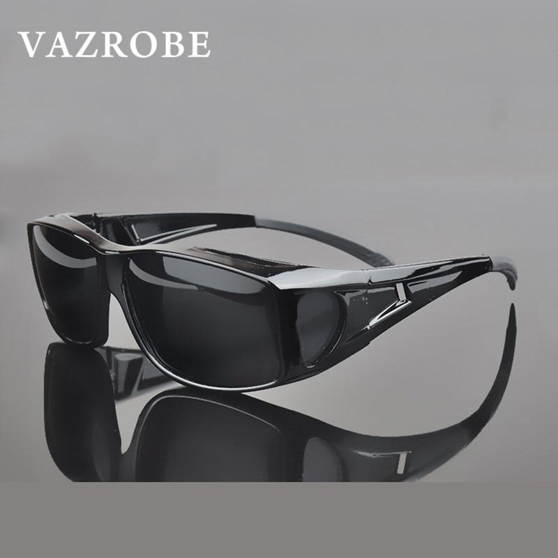 ae8f62639e Vazrobe Driving Polarized Sunglasses Men Women Myopia Glasses Set Sun  Glasses for Driver s Goggles Anti Glare