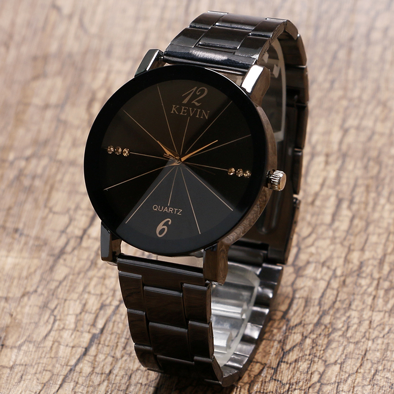KEVIN Ladies Watch Radiation Ray Rhinestone Dial Design Simple Quartz Women Watches 2018 New Fashion Clock Christmas Best Gift