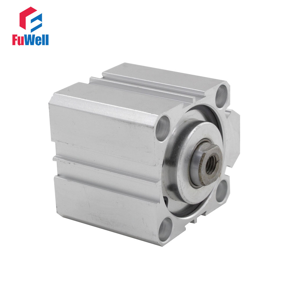 SDA Type Pneumatic Cylinder 63mm Bore 5/10/15/20/25/30/40/50mm Stroke Aluminum Alloy Dual Action SDA Air CylinderSDA Type Pneumatic Cylinder 63mm Bore 5/10/15/20/25/30/40/50mm Stroke Aluminum Alloy Dual Action SDA Air Cylinder