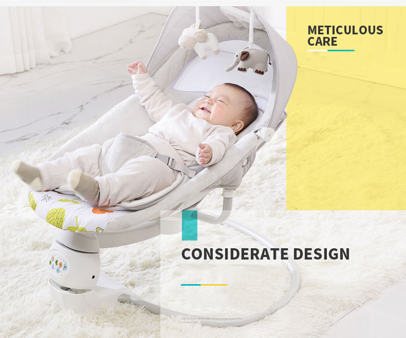 Magnificent Us 119 91 35 Off Auto Swing Baby Rocking Chair Baby Cradle To Soothe Baby God To Sleep Neonate Bed Cradle Nonelectric Baby Sleeping Bed In Baby Squirreltailoven Fun Painted Chair Ideas Images Squirreltailovenorg