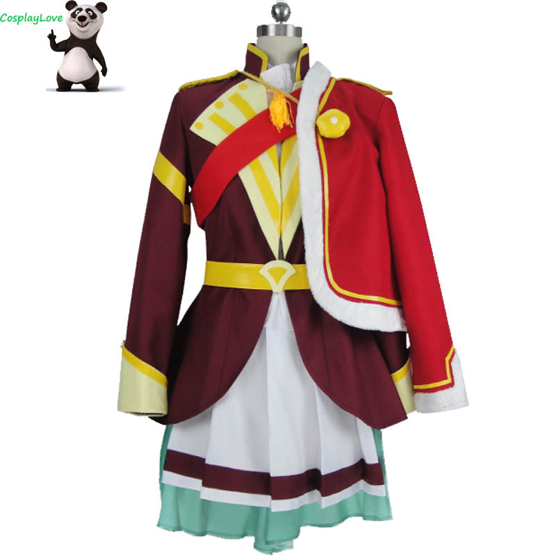 CosplayLove Revue Starlight Kaoruko Hanayagi Cosplay Costume Dress Custom Made For Halloween Christmas