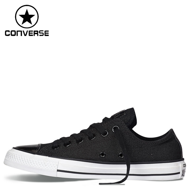 ФОТО Original New Arrival  Converse Brush Off Leather Toecap Women's Low top Skateboarding Shoes Canvas Sneakers