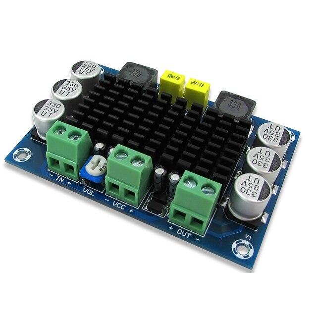 AIYIMA TPA3116D2 Mono dźwięk cyfrowy płyta wzmacniacza klasy D 100W wzmacniacze DC12 26V DIY XH M542 wzmacniacz hifi moduł