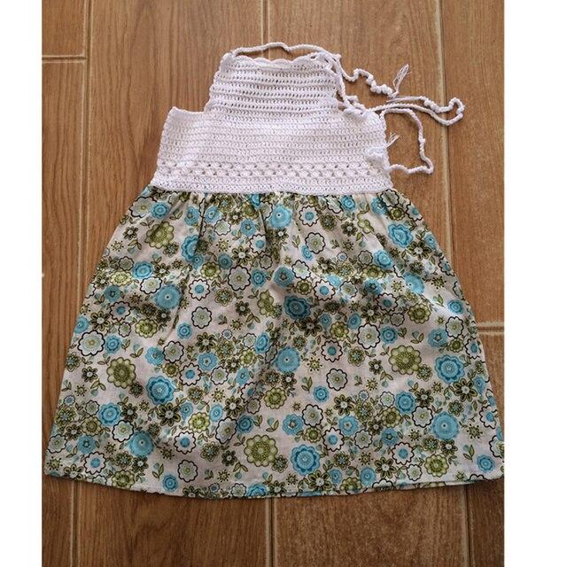 Häkeln Patten Kleid Für Babys Kleidung Mode Halb Girl Kleid Schöne