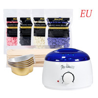 Depilatory Wax Heater Wax Cartridge Hair Removal Cream Home Hair Removal Bean Machine Bean Sticks Waxing Kit EU/US Plug