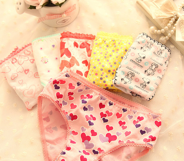 Girls Underwear Panties Panties For Girls Knickers Children's Pants Kids Calcinha Menina Pants For Girls Baby Briefs 6pcs/lot