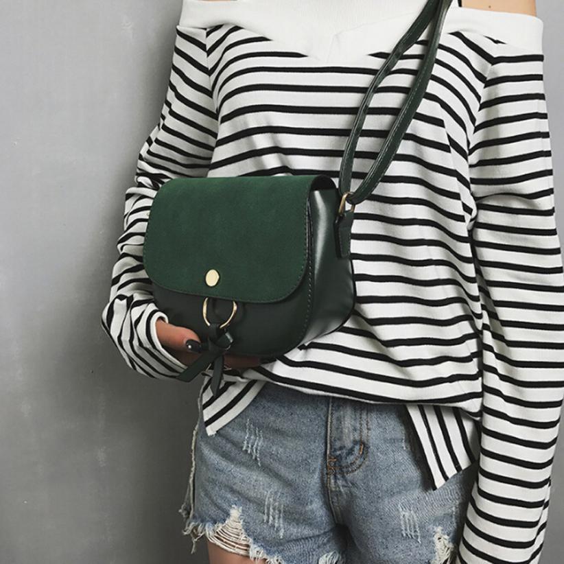 Molave Shoulder Bag new high quality leather Fashion Tassel Solid Scrub Hasp Handbag Crossbody shoulder bag women FEB27