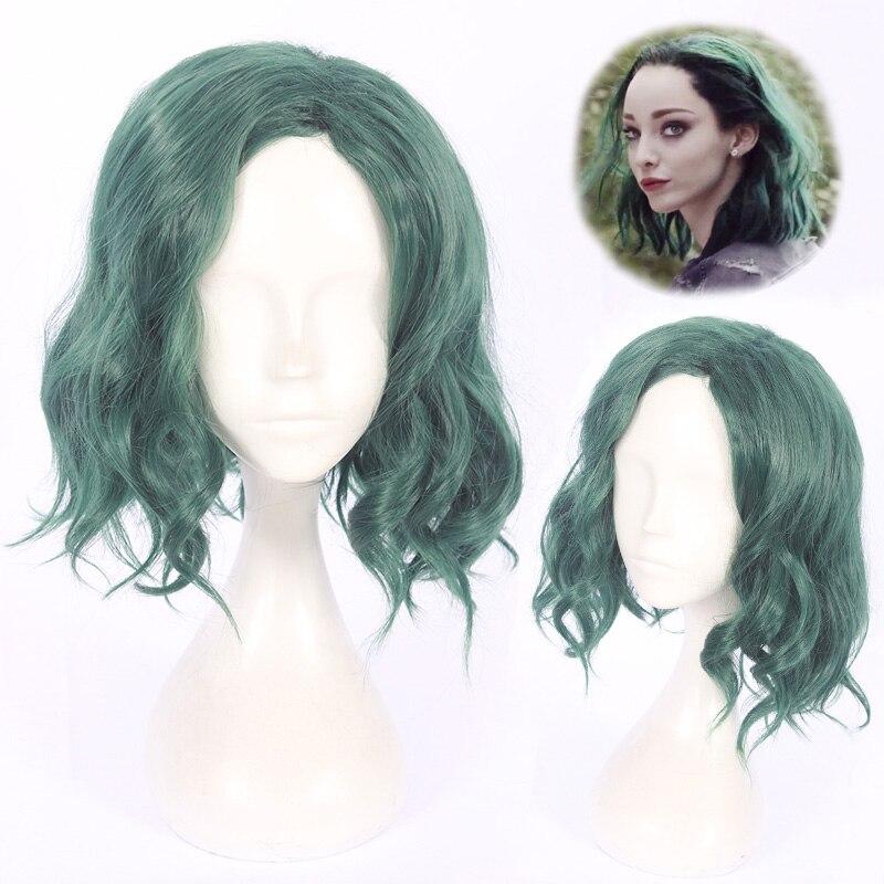 The Gifted Lorna Dan Polaris Cosplay Paryk För Kvinnor Kort Curly - Maskeradkläder och utklädnad
