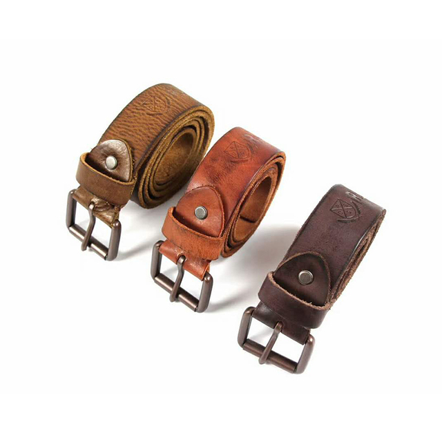 3b9be394d3f3 Vintage High Quality Washed Genuine Leather Belt Men rrl gg Brand Cowboy  Ceinture Homme Mens Fashion Accessory