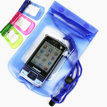 PVC Waterproof Diving Bag For Mobile Phones Underwater Pouch Case For iphone 4s 5s 6 6plus